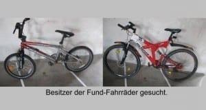 Wem gehören diese Fahrräder Höchstädt