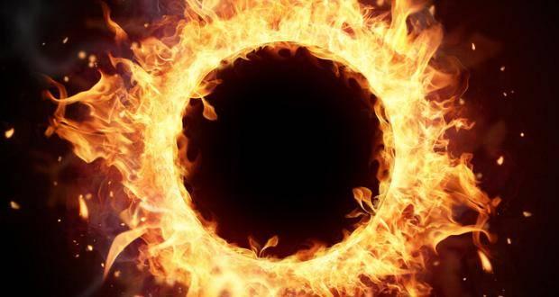 Feuer Kreis Explosion