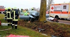 Tödlicher Verkehrsunfall bei Offingen