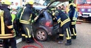 Verkehrsunfall Günzburg mit einem Verletzten