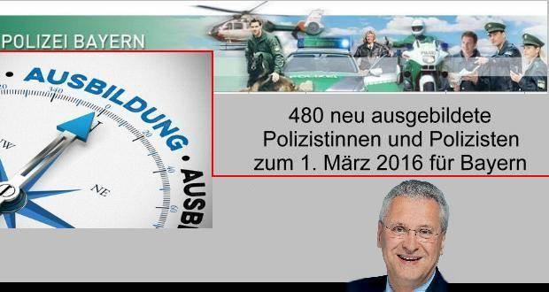 Polizei Bayern neue Stellen