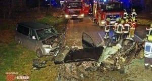 Verkehrsunfall Tussenhausen