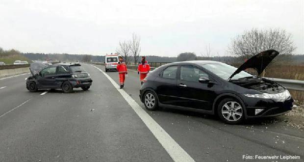 VerkehrsunfallAzwischenLeipheimundGünzburg