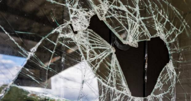 Glasscheibe Fensterscheibe Kaputt