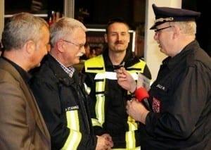 Helmut Stammer Ehrung 40 Jahre Feuerwehr