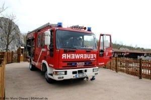 Feuerwehr Wasserburg Günzburg beim Helden Event im Legoland