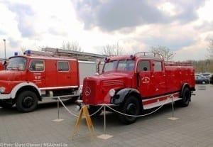 Hisorisches Feuerwehrfahrzeug Helden Event Legoland Deutschland Günzburg