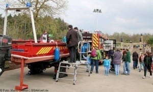 Boot der Feuerwehr Offingen Helden Event Legoland Deutschland Günzburg