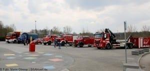 Fahrzeugausstellung Feuerwehr THW Helden Event Legoland Deutschland Günzburg