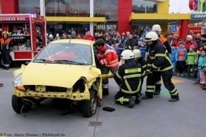 Feuerwehr Rettungsdienst Günzburg Showübung Helden Event Legoland Deutschland Günzburg
