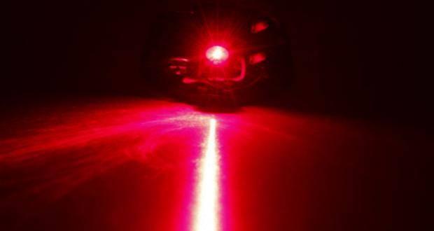 Laserpointer geblendet
