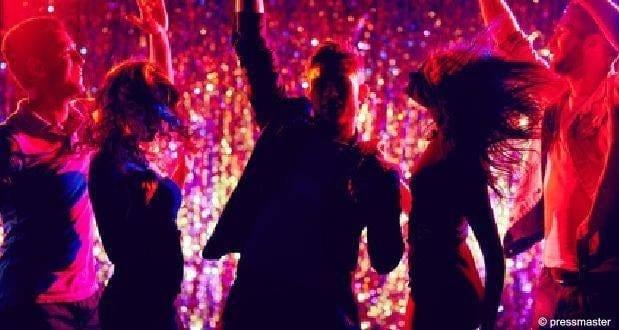 Party Club Dance Feiernde Menschen