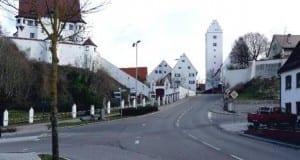 Stadtberg in Leipheim im Kreis Günzburg