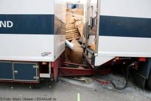 Verkehrsunfall A7 Herbrechtingen Verkehrsunfall