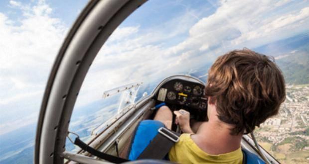 Flieger Segelflugzeug