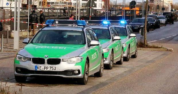 Mehrere Polizeiautos