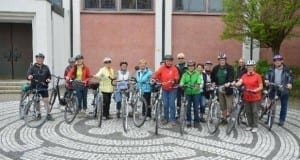 Teilnehmer bei erster Senioren-Fahrradtour