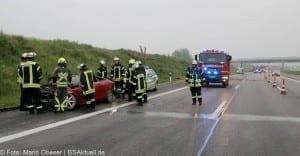 Verkehrsunfall Autobahn 8 Leipheim 28052016 11