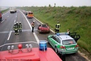 Verkehrsunfall Autobahn 8 Leipheim 28052016 15