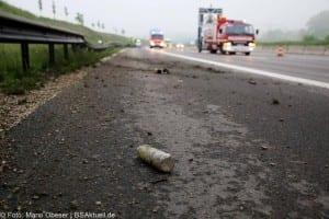 Verkehrsunfall Autobahn 8 Leipheim 28052016 17