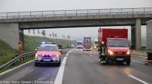 Verkehrsunfall Autobahn 8 Leipheim 28052016 3