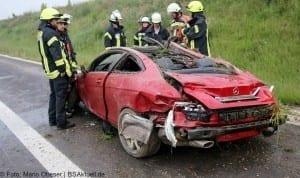 Verkehrsunfall Autobahn 8 Leipheim 28052016 6