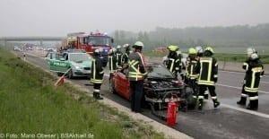 Verkehrsunfall Autobahn 8 Leipheim 28052016 9