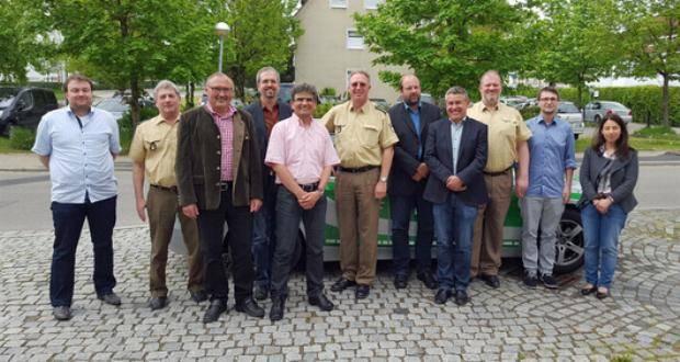 Kreisverwaltungsbehörden zu Gast im Polizeipräsidium