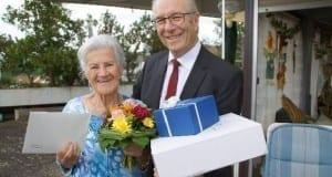 Anna Weber 105 Geburtstag