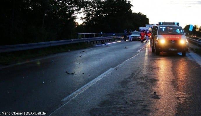Tödlicher Verkehrsunfall B10 Ulm am 15.06.2016 03