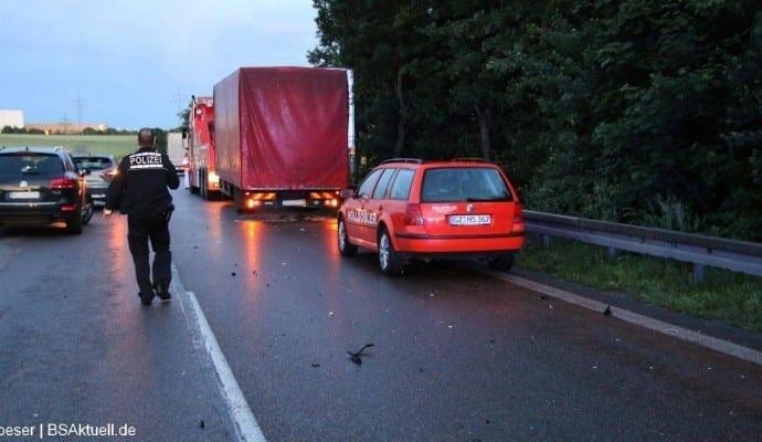 Tödlicher Verkehrsunfall B10 Ulm am 15.06.2016 05