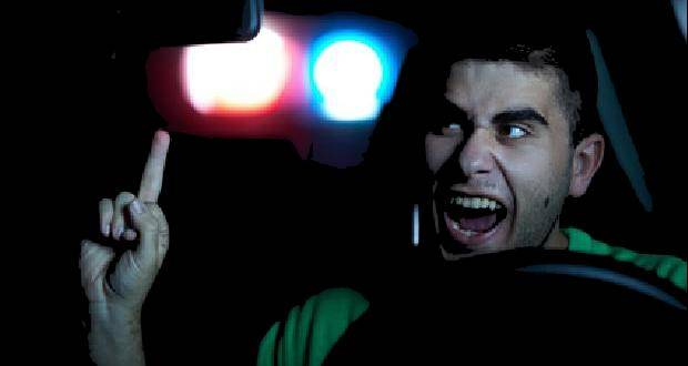 Polizei Verfolgungsfahrt Verkehrskontrolle Flucht