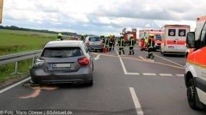 Verkehrsunfall Burtenbach Umgehung am 12.06.2016