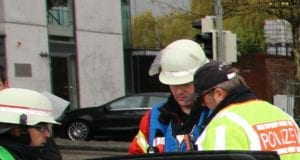 Feuerwehr und Polizei Ulm