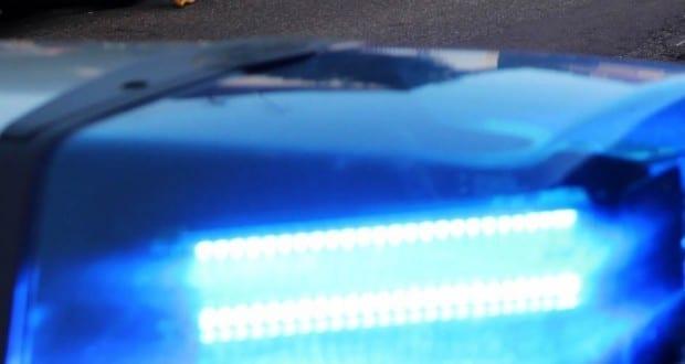 Blaulicht eingeschaltet