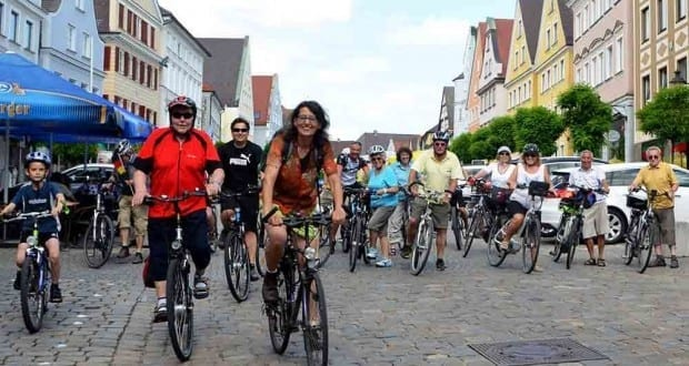 Guenzburg ueber 15.000 Kilometer beim Stadtradeln