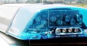Polizei Blaulicht Blaulichtbalken