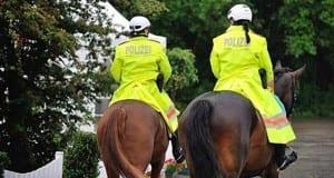 Reiterstaffel Polizei Pferd fritzmax