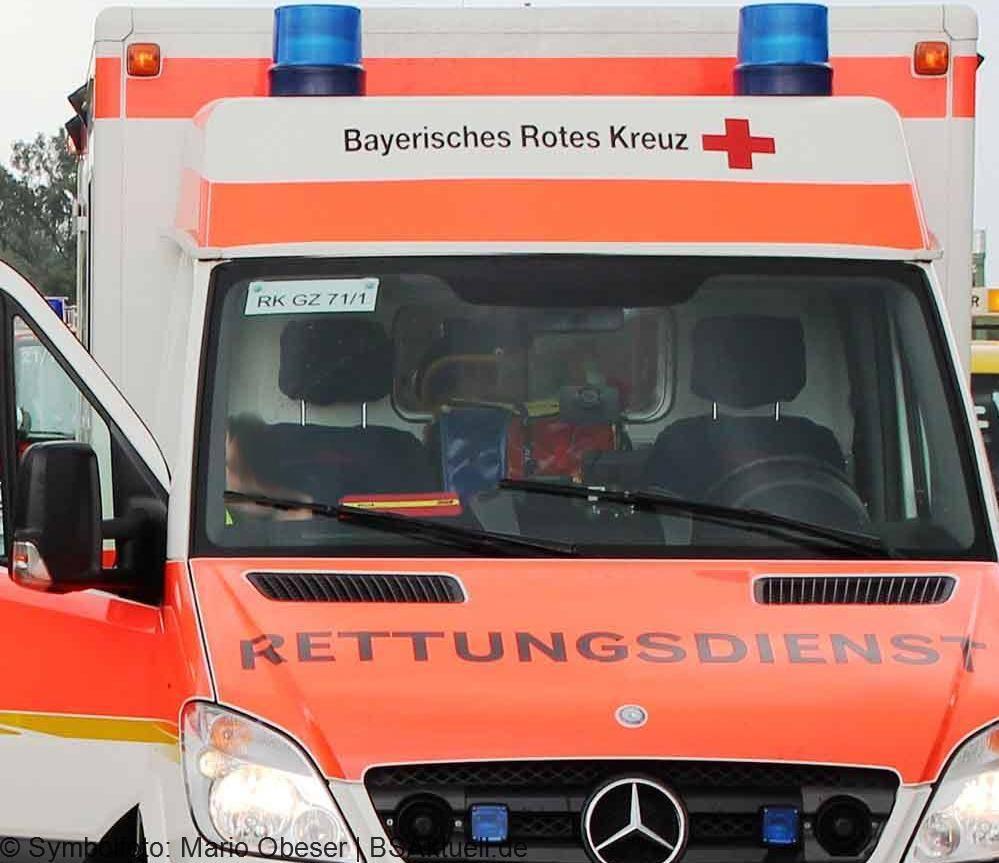 Rettungswagen Guenzburg RTW BRK