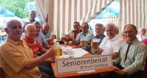 Seniorennachmittag Guenzburg Volksfest