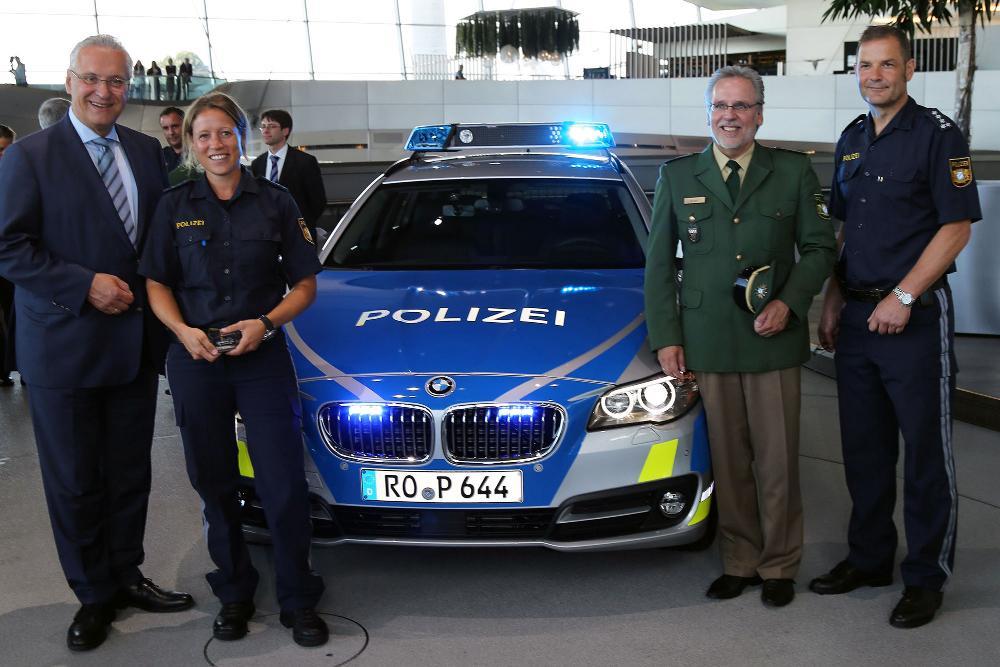 Polizei Bayern Blau