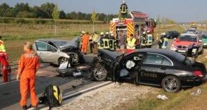 Tödlicher Verkehrsunfall bei Leipheim