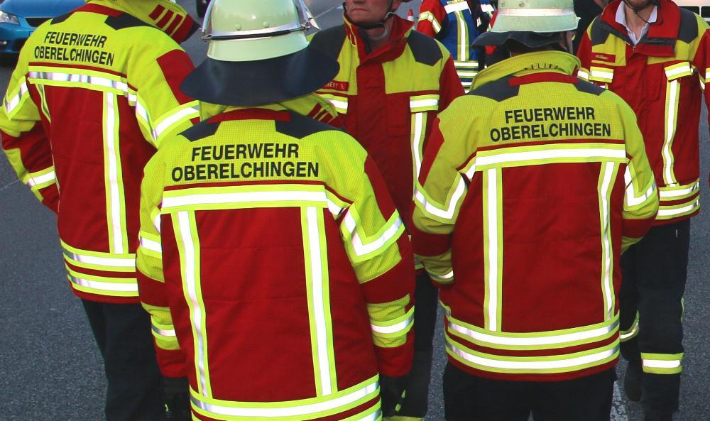 Einsatz für die Feuerwehr Oberelchingen
