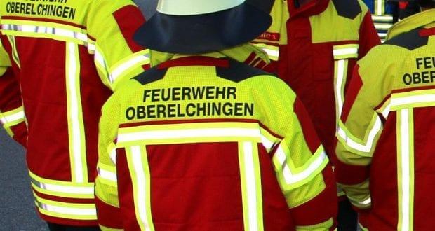 Feuerwehrkräfte Oberelchingen im Einsatz