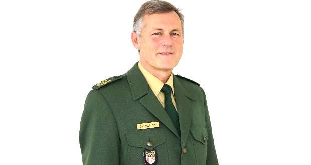 Polizeivizepräsident Klaus Faltenbacher