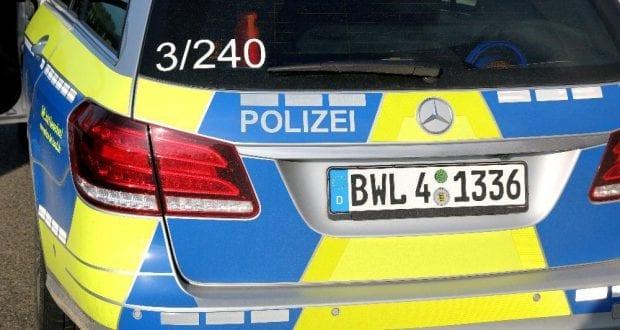 Polizeifahrzeug aus Baden Württemberg