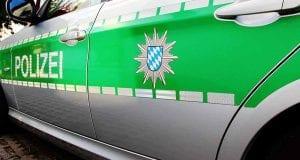 Polizeiauto seitlich