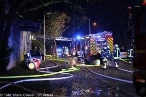 Kreis Günzburg: Zwei Menschen sterben bei Wohnhausbrand