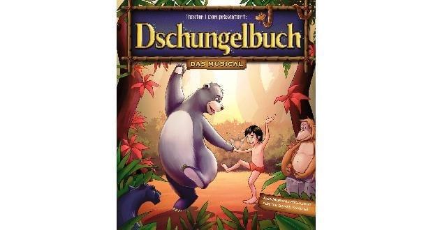 """""""Dschungelbuch – das Musical"""" gastiert in Neu-Ulm"""