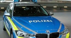 Polizei Bayern fährt jetzt blau